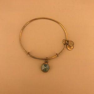 Alex and Ani December Birthday Bracelet